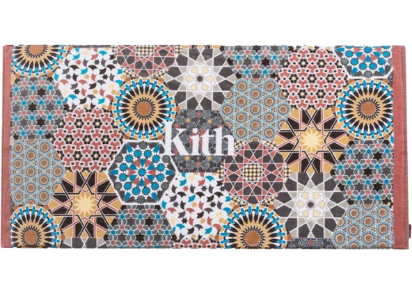 Kith Moroccan Tile Beach Towel Tile/Multi