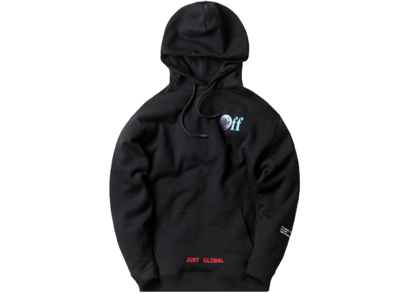 Kith Off-White Just Global Hoodie Black
