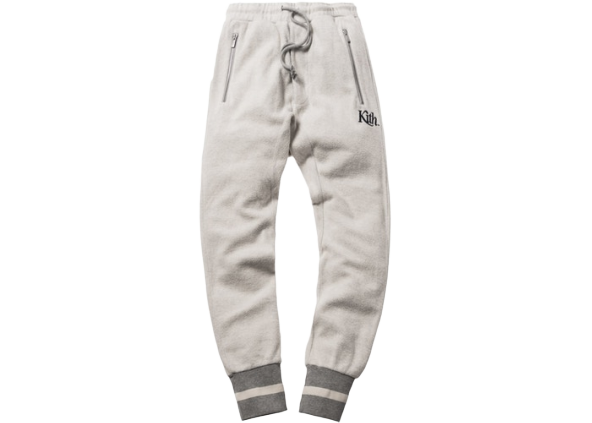 Kith Reverse Bleecker Pant Heather Grey