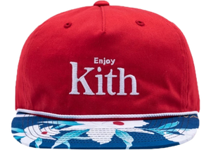 Kith x Coca-Cola Floral Cap Red/Blue