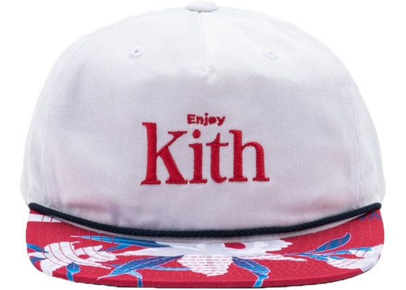 Kith x Coca-Cola Floral Cap White/Red