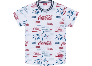 Kith x Coca-Cola x Mitchell & Ness BP Hawaii Jersey White