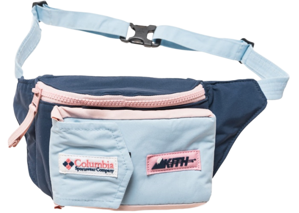 Kith x Columbia Popo Sling Pack Navy