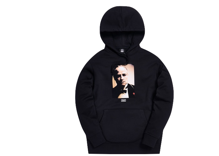 Kith x The Godfather Il Padrino Hoodie Black