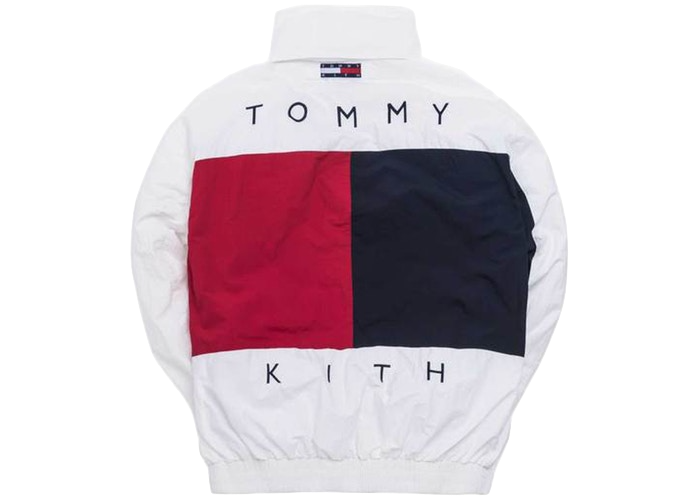 Kith x Tommy Hilfiger Colorblock Sailing Jacket White