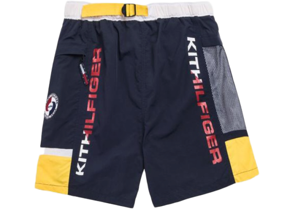 Kith x Tommy Hilfiger Solid Swim Trunk Navy