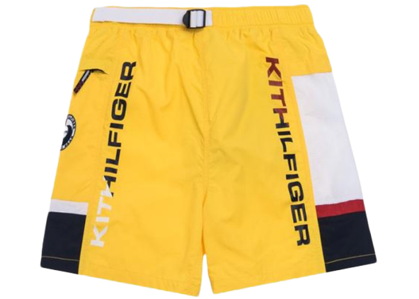 Kith x Tommy Hilfiger Solid Swim Trunk Yellow