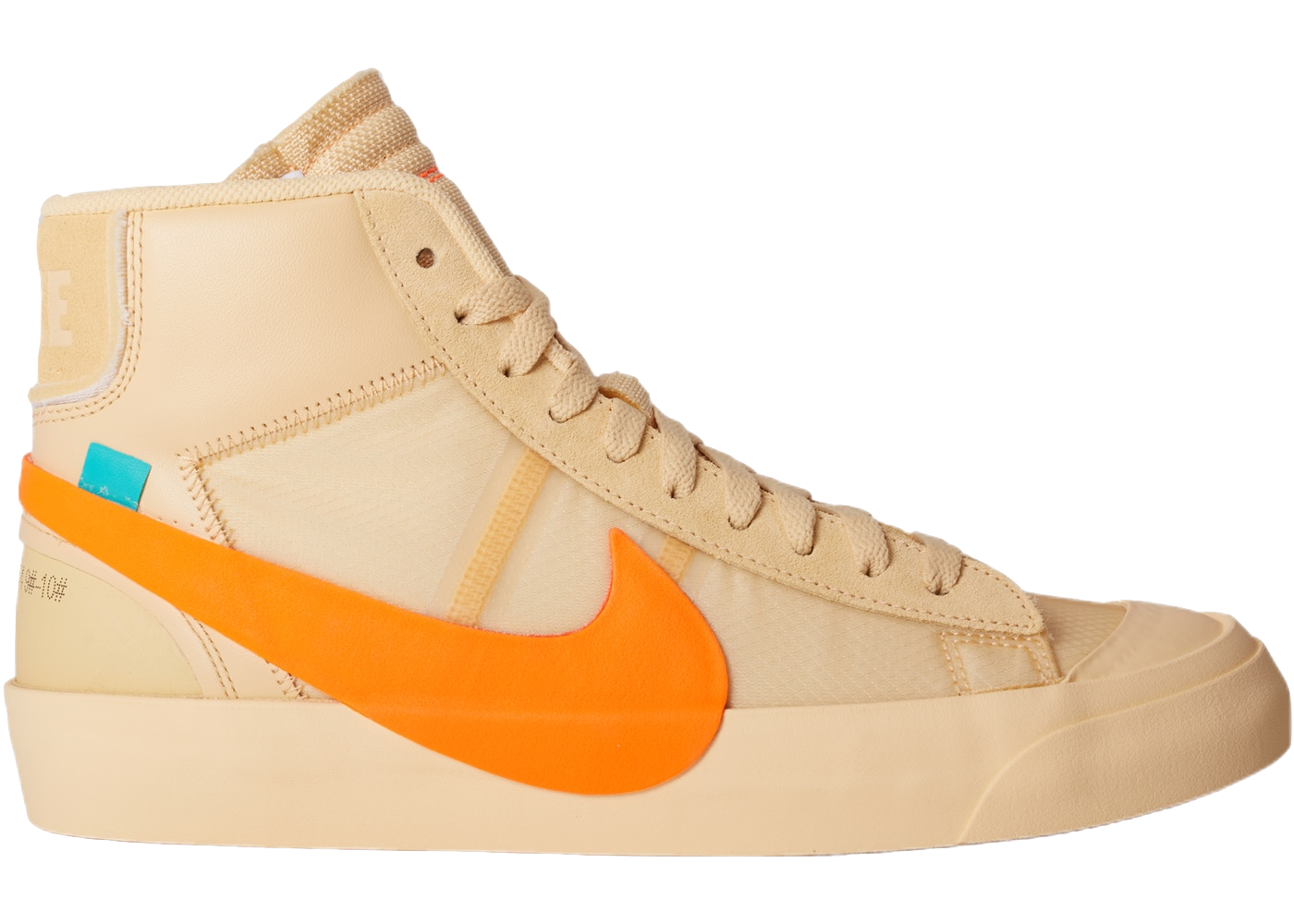 Nike Blazer Mid Off-White All Hallow's Eve - Baza