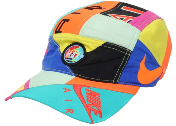 Nike x Atmos NRG AW84 Hat Blue/Black/Flash Crimson