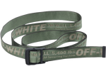 OFF-WHITE Industrial Belt (SS19) Green/Grey