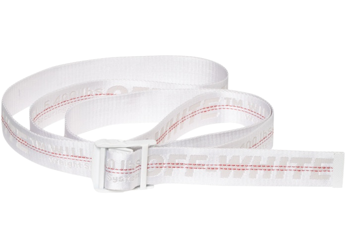 OFF-WHITE Industrial Belt (SS19) White