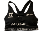 OFF-WHITE Nike Sports Bra Black