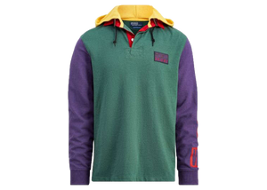 Polo Ralph Lauren Snow Beach Hooded Rugby Pine - Baza
