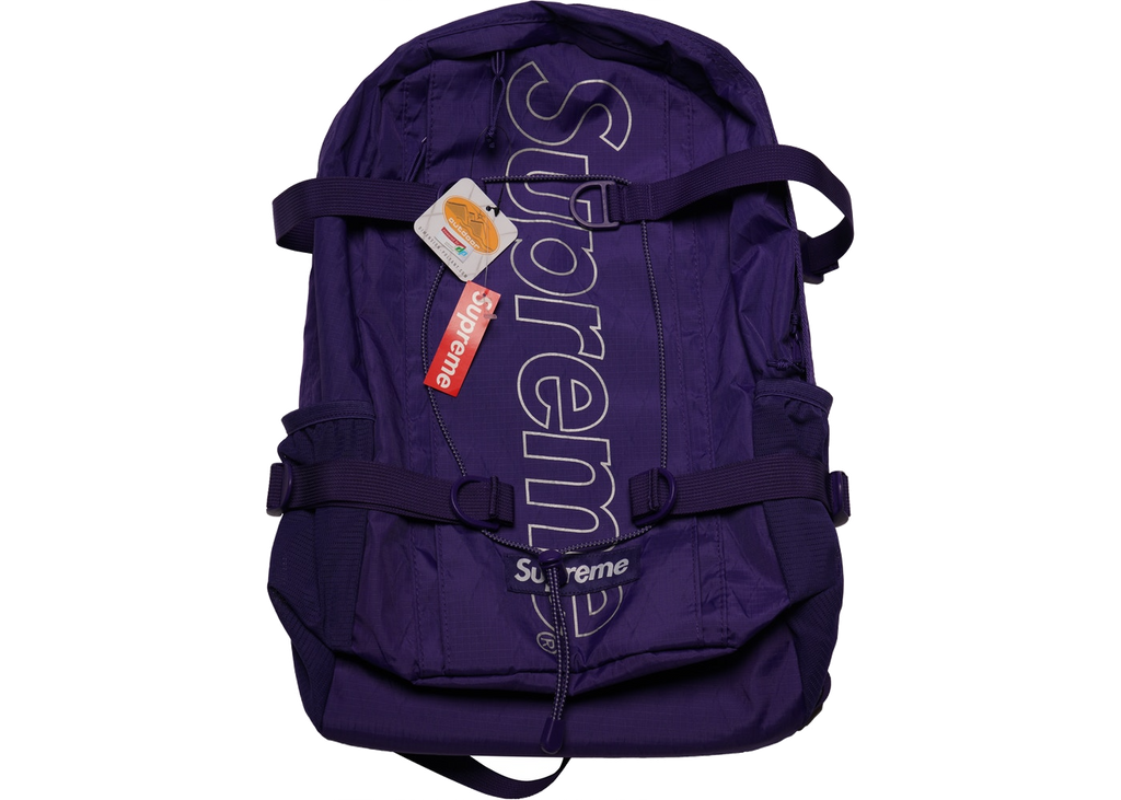 Supreme Backpack (FW18) Purple - Baza