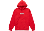 Supreme Bandana Box Logo Hooded Sweatshirt Red
