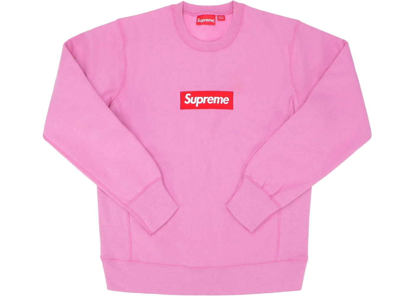 Supreme Box Logo Crewneck Heather Pink - Baza