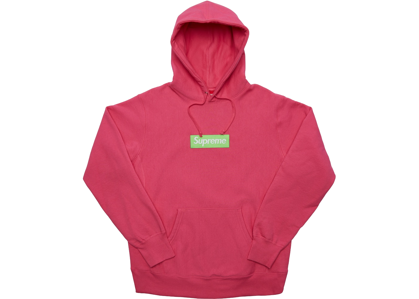 Supreme Box Logo Hooded Sweatshirt (FW17) Magenta - Baza