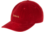 Supreme Corduroy 6-Panel Red