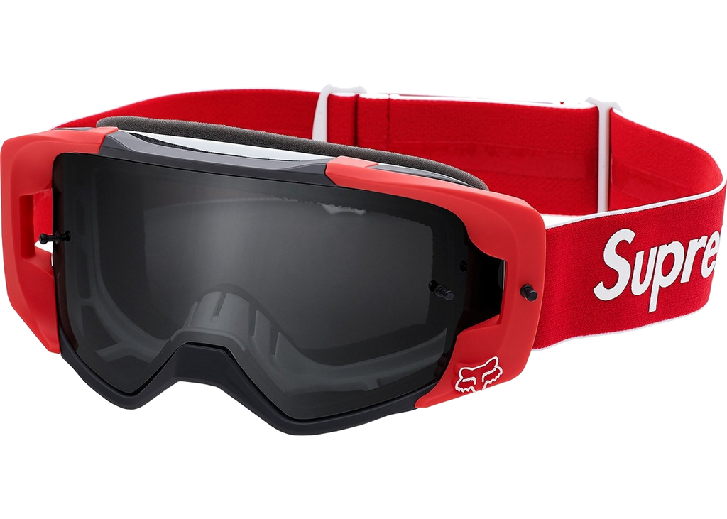 Supreme Fox Racing VUE Goggles Red - Baza