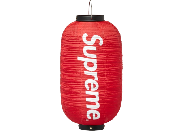 Supreme Hanging Lantern Red