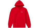 Supreme Mary Hooded Sweatshirt Red