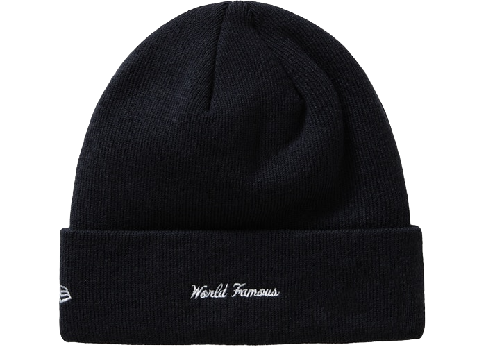 Supreme New Era Box Logo Beanie (FW19) Black