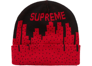 Supreme New York Beanie Black