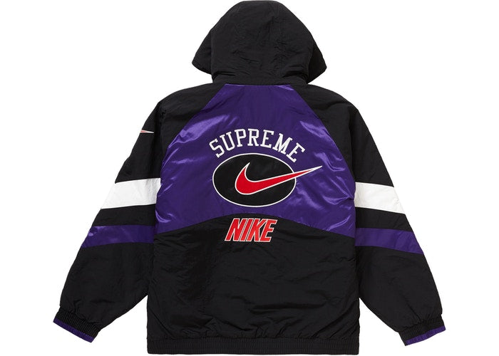 Supreme Nike Hooded Sport Jacket Purple