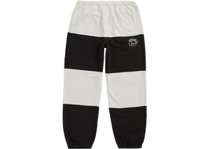Supreme Nike Stripe Sweatpant Black