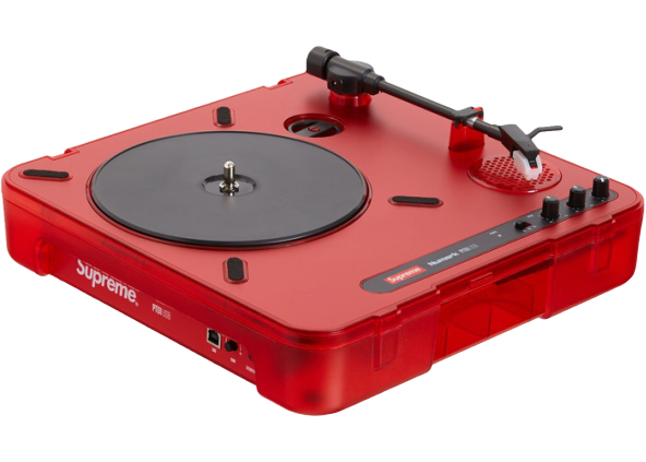 Supreme Numark PT01 Portable Turntable Red