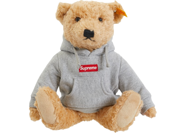 Supreme Steiff Bear Heather Grey