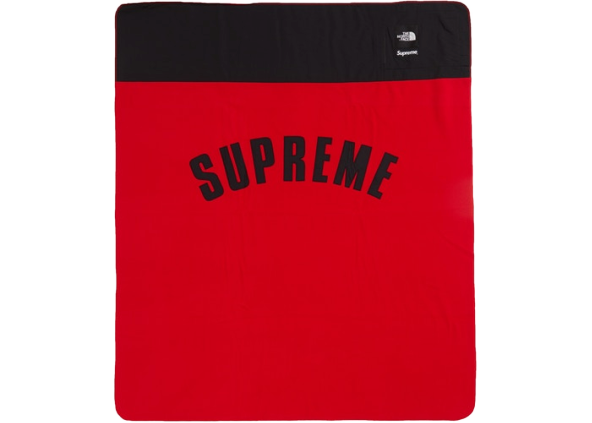 Supreme The North Face Arc Logo Denali Fleece Blanket Red
