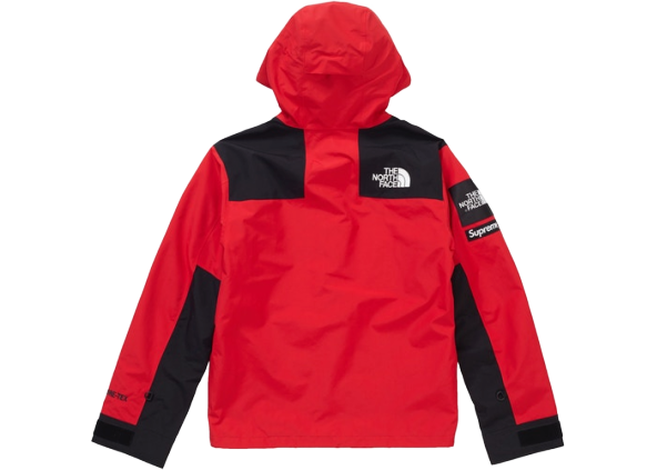 Supreme The North Face Arc Logo Mountain Parka Red