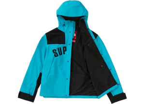 Supreme The North Face Arc Logo Mountain Parka Teal