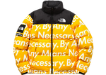 Supreme The North Face By Any Means Nuptse Jacket Yellow - Baza