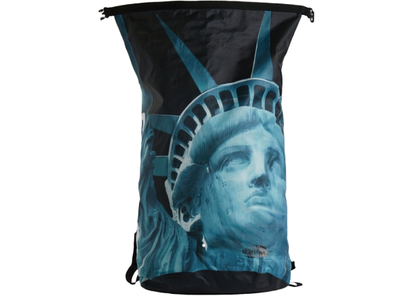 Supreme The North Face Statue of Liberty Waterproof Backpack Black