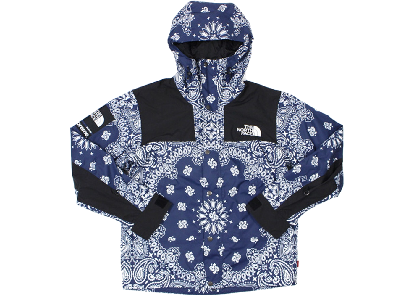 Supreme The North Face Bandana Mountain Jacket Navy - Baza