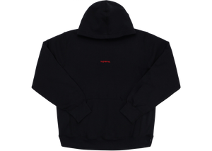 Supreme Trademark Hooded Sweatshirt Black - Baza