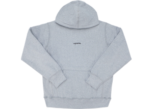 Supreme Trademark Hooded Sweatshirt Heather Grey - Baza