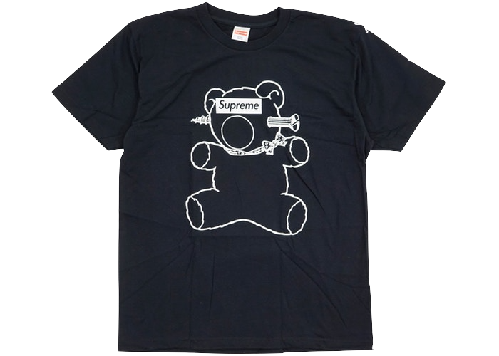 Supreme Undercover Bear Tee Black
