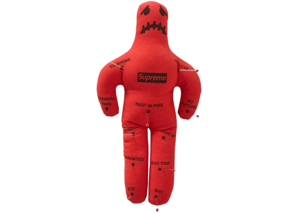 Supreme Voodoo Doll Red