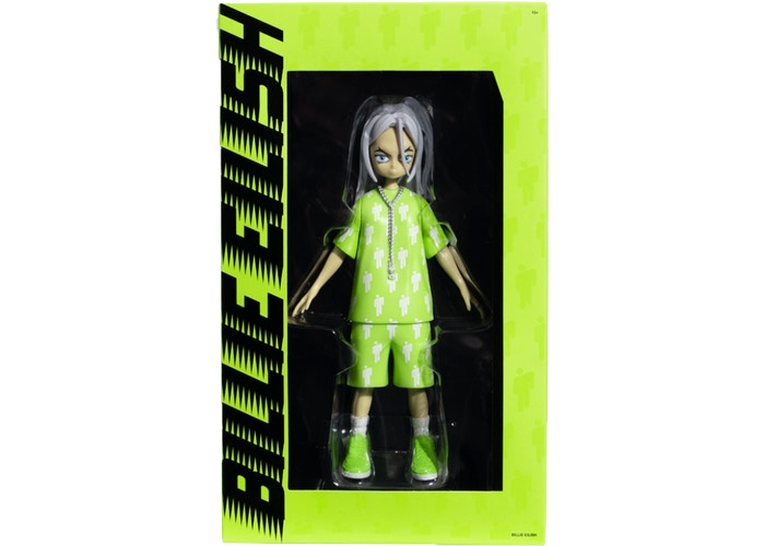 Takashi Murakami Billie Eilish Limited Edition Vinyl Figure Multi