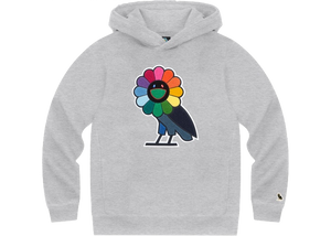 Takashi Murakami x OVO Hoodie Heather Grey