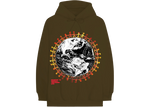 Travis Scott Around The World Hoodie Brown