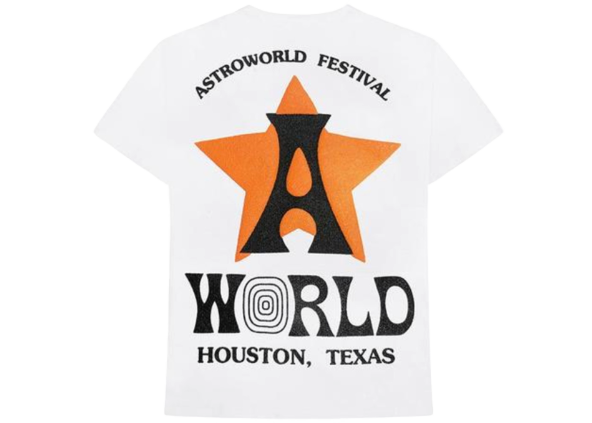 Travis Scott Astro Tee White