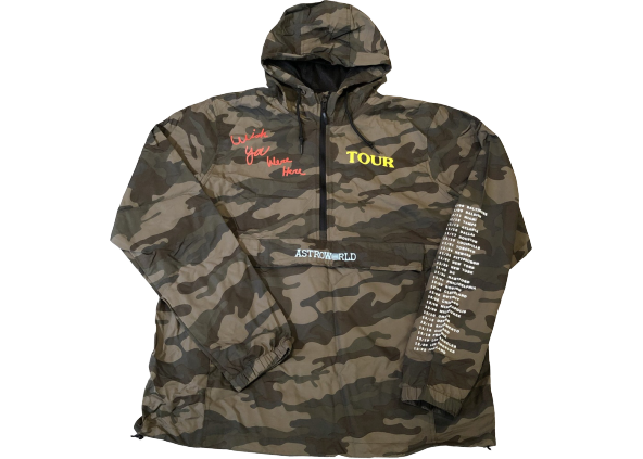 Travis Scott Astroworld Anorak Camo