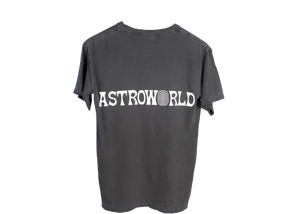 Travis Scott Astroworld Lollapalooza Enjoy The Ride Tee Washed Black