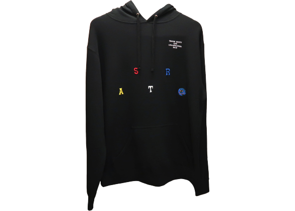 Travis Scott Astroworld Lollapalooza Hoodie Black