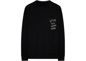 Travis Scott Astroworld Wish You Were Here L/S Tee Black