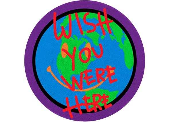 Travis Scott Astroworld Wish You Were Here Rug Multi